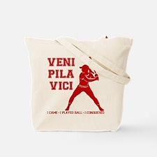 VENI-PILA-VICI (both sides) Tote Bag