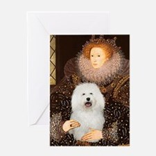 The Queen's Bolognese Greeting Card