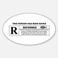 THIS PERSON HAS BEEN RATED REFORMED Decal