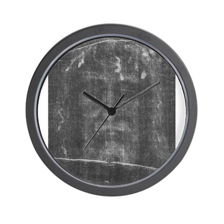 Shroud of Turin - Face of Jes Wall Clock