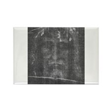 Shroud of Turin - Face of Jes Rectangle Magnet