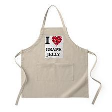 I love Grape Jelly Apron