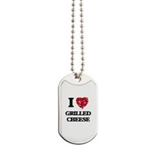 I love Grilled Cheese Dog Tags