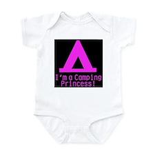 Camping Princess Infant Bodysuit
