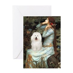 Ophelia & Bolognese Greeting Card
