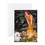 Fairies & Bolognese Greeting Card
