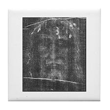 Turnin Shroud - Face of Jesus Tile Coaster