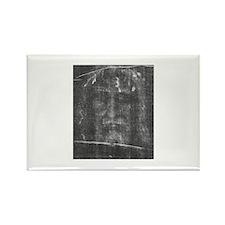Turnin Shroud - Face of Jesus Rectangle Magnet (10
