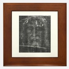 Turnin Shroud - Face of Jesus Framed Tile