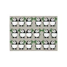 Pandapanda 5'x7'area Rug
