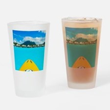 paradise found Drinking Glass