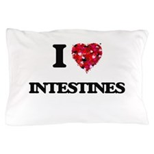 I love Intestines Pillow Case