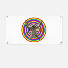 Rainbow Sloth Banner