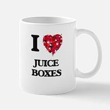 I love Juice Boxes Mugs