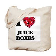 I love Juice Boxes Tote Bag