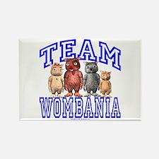 Team Wombania Rectangle Magnet