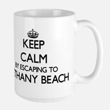 Keep calm by escaping to Bethany Beach Delawa Mugs