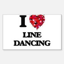 I love Line Dancing Decal