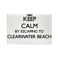 Keep calm by escaping to Clearwater Beach Magnets