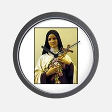 Saint Therese de Lisieux Wall Clock