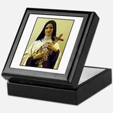 Saint Therese de Lisieux Keepsake Box