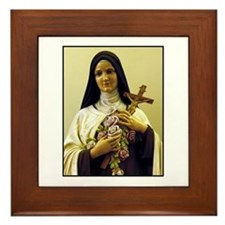 Saint Therese de Lisieux Framed Tile