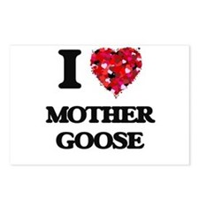 I love Mother Goose Postcards (Package of 8)