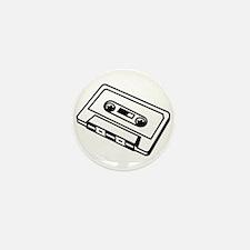 Cassette Mini Button (10 pack)