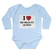 I love My Beauty Queen Body Suit