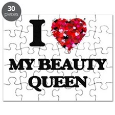 I love My Beauty Queen Puzzle