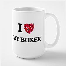 I love My Boxer Mugs