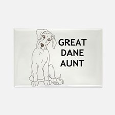 NGDSmirk Aunt Rectangle Magnet
