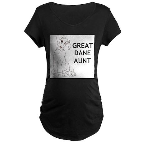 NGDSmirk Aunt Maternity Dark T-Shirt