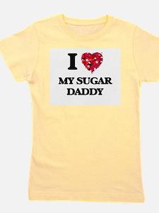 I love My Sugar Daddy Girl's Tee