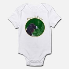 English Springer Peace Infant Bodysuit