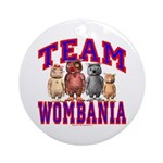 Team Wombania Ornament (Round)