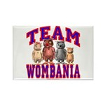 Team Wombania Rectangle Magnet (10 pack)