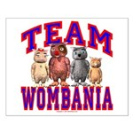 Team Wombania Small Poster