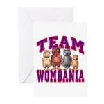 Team Wombania Greeting Cards (Pk of 20)