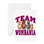 Team Wombania Greeting Card