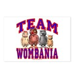 Team Wombania Postcards (Package of 8)