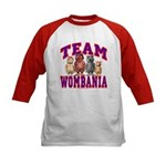 Team Wombania Kids Baseball Jersey