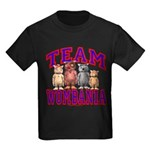 Team Wombania Kids Dark Colored Tee Shirt