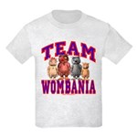 Team Wombania Kids T-Shirt Light Colored