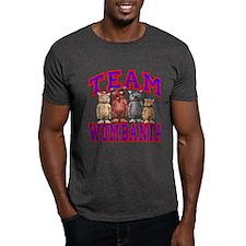 Team Wombania T-Shirt Dark Colored