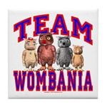 Team Wombania Tile Coaster