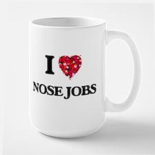 I love Nose Jobs Mugs