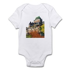 Frontenac Castle Quebec City Infant Bodysuit