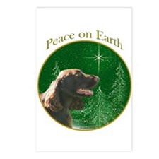 Field Spaniel Peace Postcards (Package of 8)