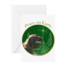 Field Spaniel Peace Greeting Card